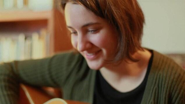 La musicienne et libraire Myriam Gendron