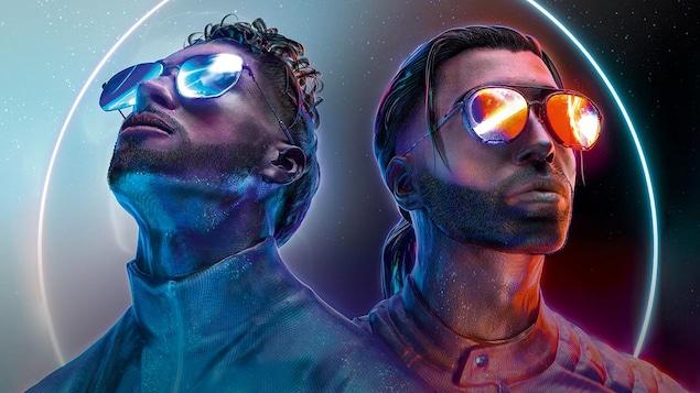 Le duo de frères rappeurs PNL