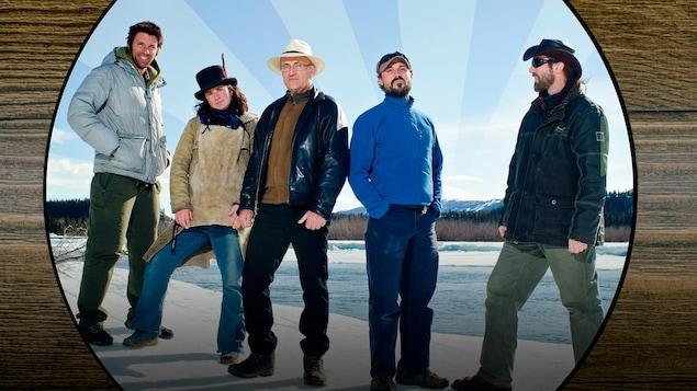 Soir de semaine, un groupe du Yukon, présente l'album Faire des voeux