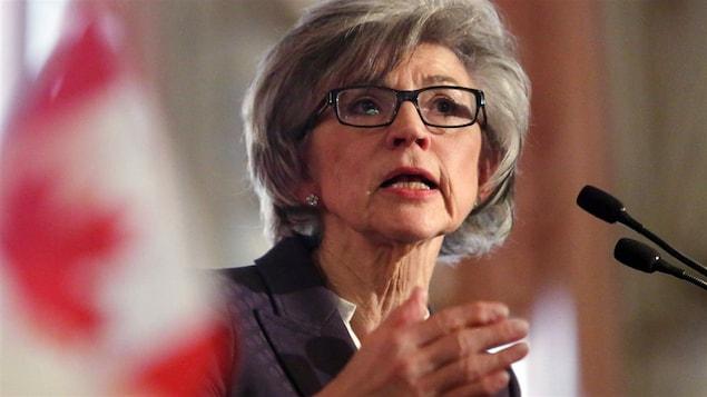 La juge en chef Beverly McLachlin