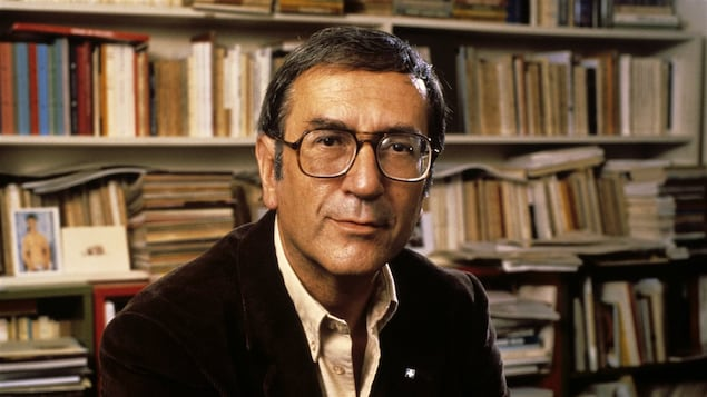 Gaston Miron en 1983