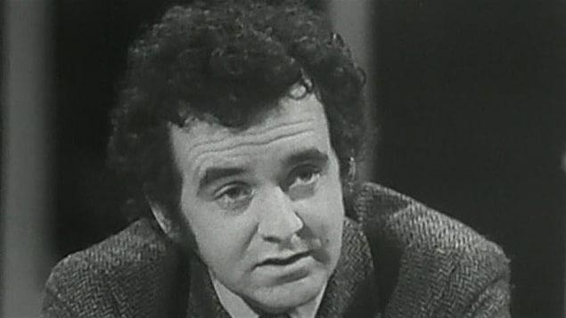 Gérald Godin, en 1971