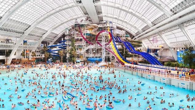 Parc aquatique du West Edmonton Mall