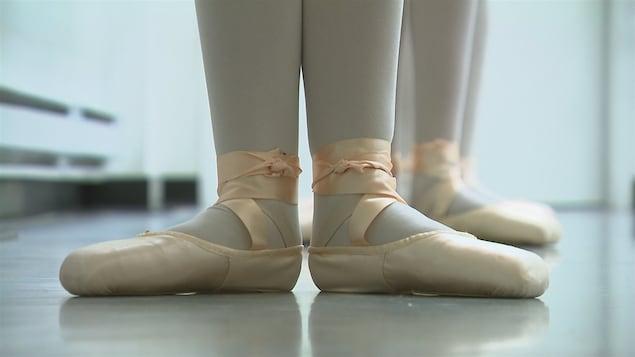 À l'École de danse Quatre Temps