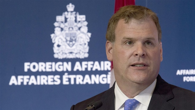 L'ancien ministre des Affaires étrangères du Canada, John Baird.