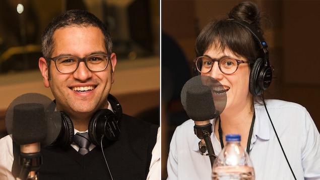 Alain Farah et Sarah Berthiaume