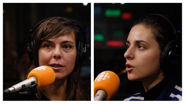 Sophie Deraspe et Nahéma Ricci en entrevue à C'est encore mieux l'après-midi.