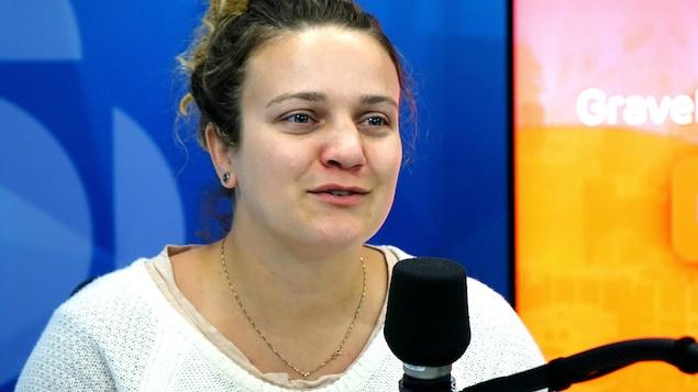 La boxeuse Ariane Fortin en entrevue à Gravel le matin