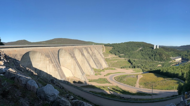 Le barrage Manic 5
