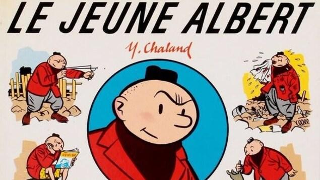 Une bande dessinée, Le jeune Albert