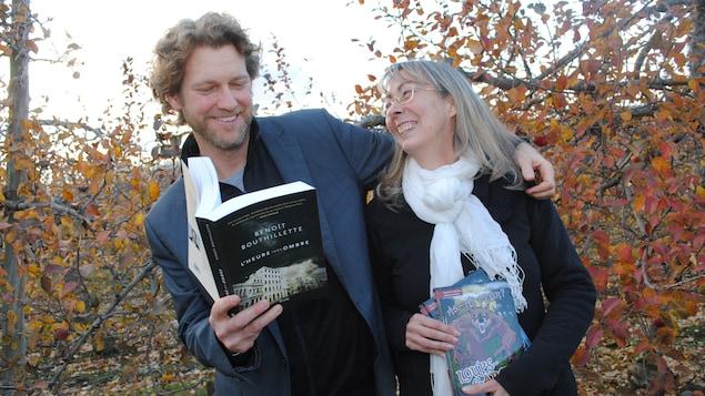 Les auteurs Benoit Bouthillette et Danielle Goyette forment un couple.