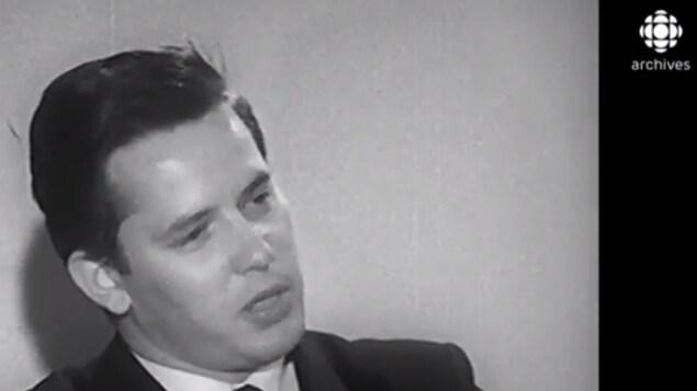 Bernard Landry en 1961.