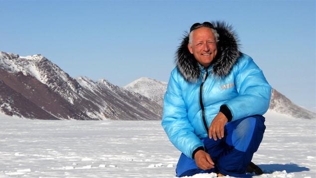 L'explorateur et alpiniste Bernard Voyer.