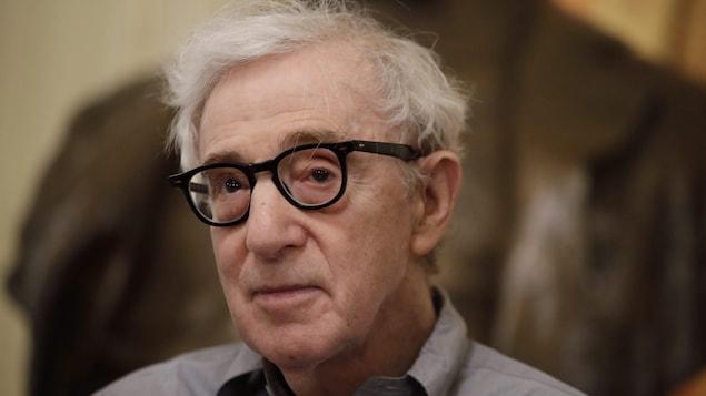 Woody Allen à Milan en 2019.