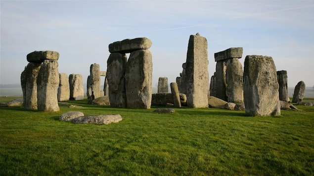 Le site de Stonehenge, en Angleterre.