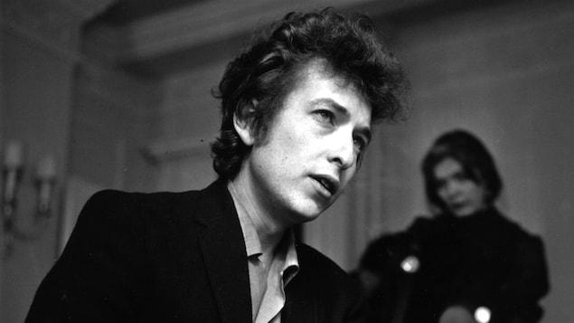 Bob Dylan à Londres.