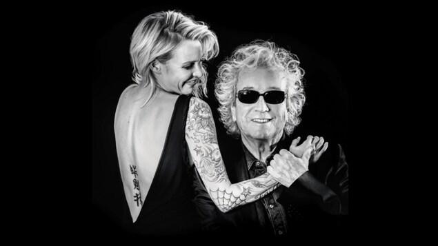 Brigitte Boisjoli accompagné de Luc Plamondon