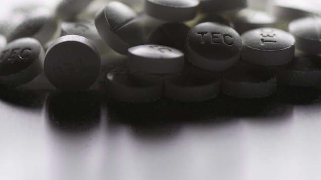 Des comprimés de fentanyl, un puissant opioïde