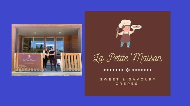 Emilie Morin et Edwine Lemon de la crêperie LA PETITE MAISON à Whitehorse.