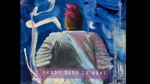Pochette du single 'Perdu dans le beat' de Sympa César.