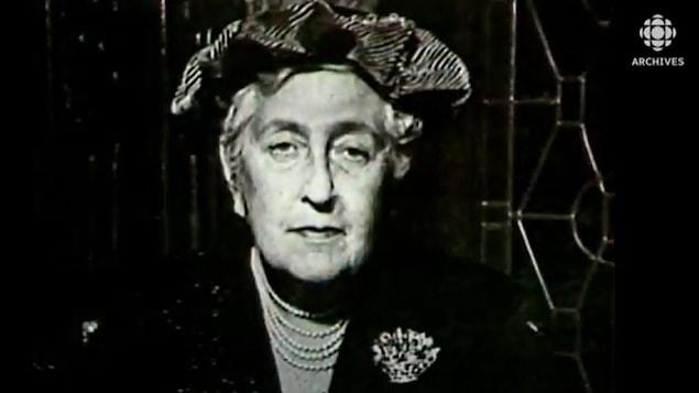 Photographie d'Agatha Christie
