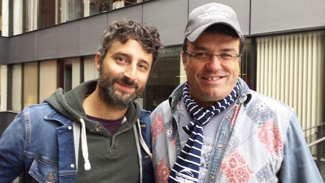 Louis-Jean Cormier et Alan Côté
