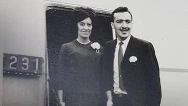 Couple de Nora Lavallée et Marcel Lambert, dont l'histoire fait l'objet d'un balado sur L'affaire Lambert, un crime commis en 1977 à Sept-Îles.
