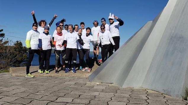 Les participants à La course FONDaMENTALE