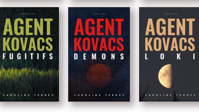 Les trois derniers tomes de la série de polar CSU - Les enquêtes de l'agent Kovacs.