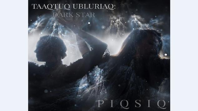 La pochette de l'album 'Taaqtuq Ubluriaq' du duo Gothinuit PIQSIQ.