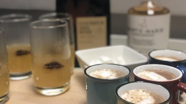 Daphnée Lacroix, gérante Tappageur, nous suggère deux cocktails servis chauds!