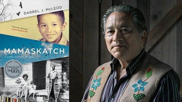 livre et photo de l'écrivain Darrel McLeod