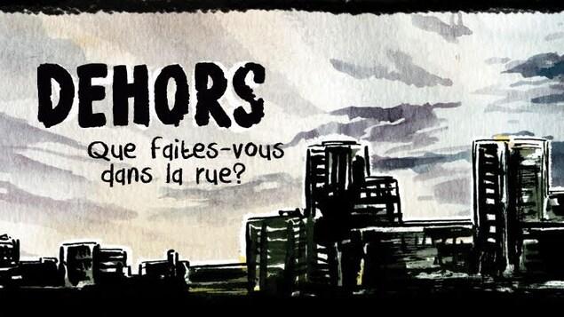 """La bande dessinées interactive """"Dehors: que faites-vous dans la rue ?"""" produit par Red Letter Films est nommée dans la catégorie Meilleure composante numérique pour une émission ou série documentaire."""