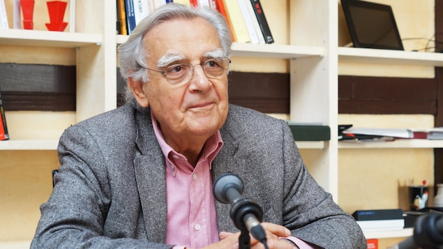 Bernard Pivot, président de l'Académie Goncourt