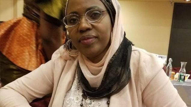 Maryamou Dieye, travailleuse sociale et membre de la communauté sénégalaise de Toronto.