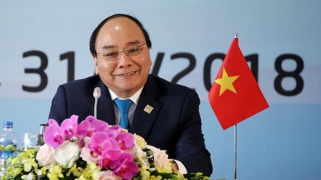 Le Premier ministre du Vietnam Nguyên Xuân Phuc