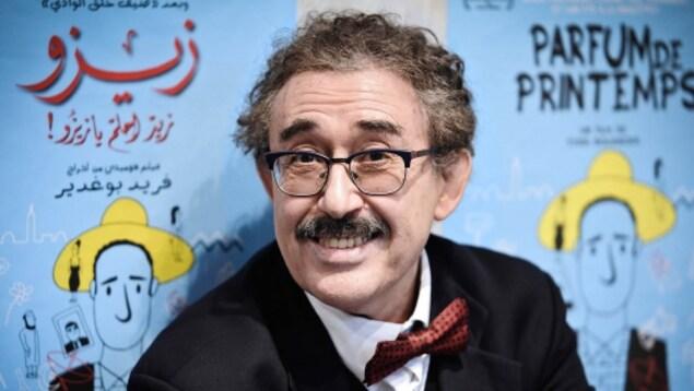 Le réalisateur du film Zizou, du cinéaste tunisien Férid Boughedir