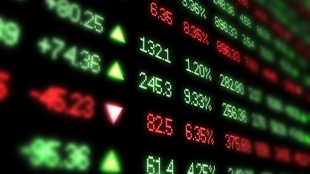 Des indicateurs de la bourse