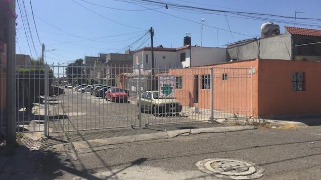 Un quartier clôturé