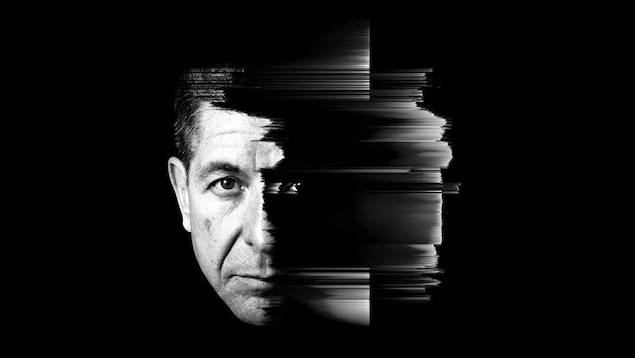 Le visage de Leonard Cohen