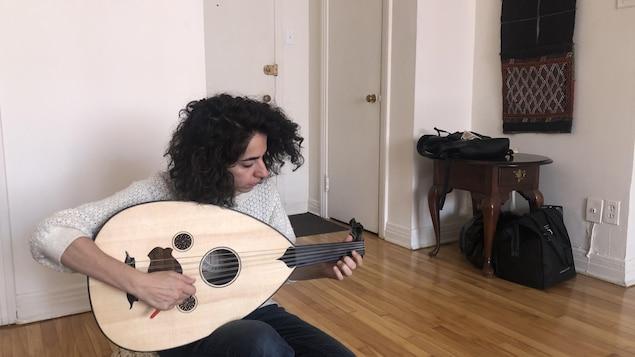 Lamia Yared, musicienne d'origine libanaise.