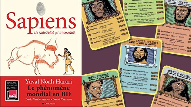 La BD « Sapiens : la naissance de l'humanité », de Yuval Noah Harari, David Vandermeulen et Daniel Casanave, Albin Michel