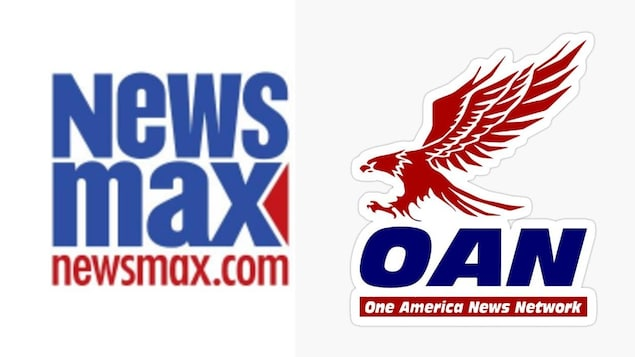 Logo de News Max et de One America News Network