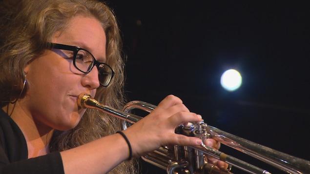 Rachel Therrien, trompettiste