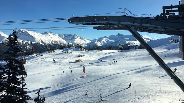 La station de ski Whistler Blackcomb.