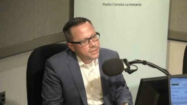 Dominic Mailloux,  président du comité organisateur du prix RelèveTO