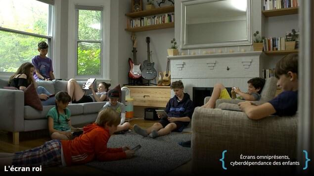 Capture d'écran de la série L'Écran Roi à Télé-Québec