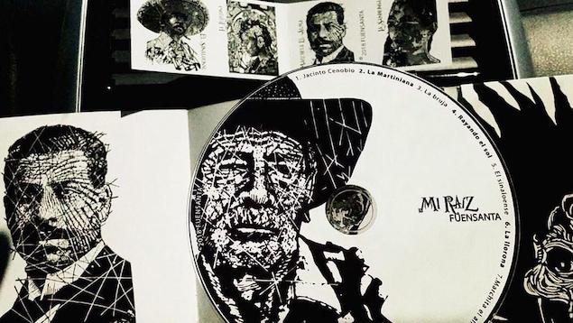 L'album MI RAIZ de l'ensemble Fuensanta