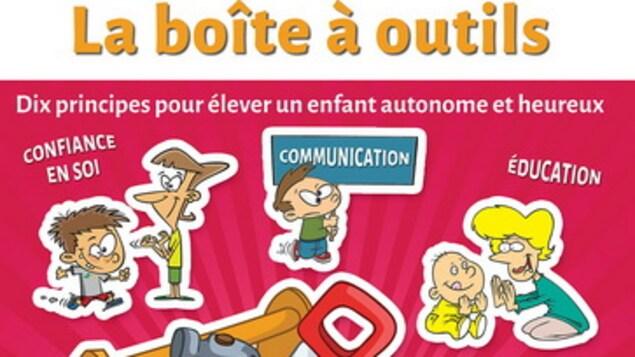 Livre Être parent, la boîte à outils, publication signée par la psychologue Ariane Hébert, aux Éditions de Mortagne