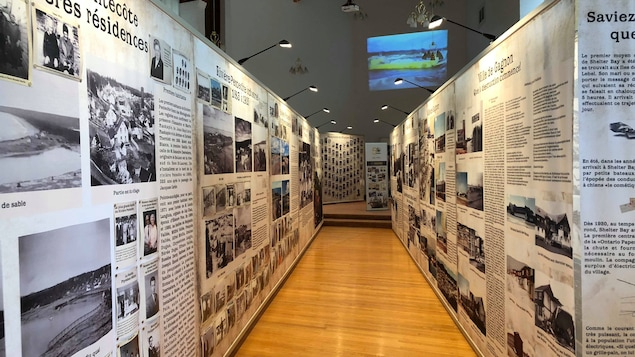 Exposition Au-delà d'un Rêve au Centre d'interprétation historique de Port-Cartier